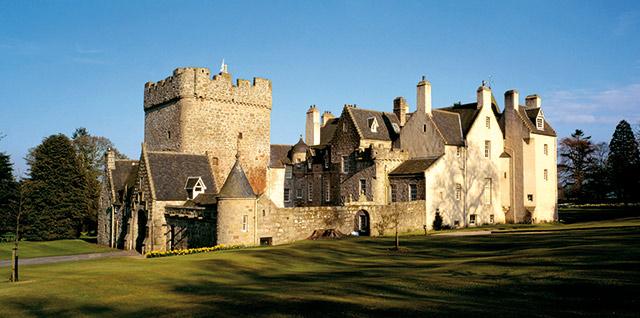 Drum Castle - Medieval Tower, Jacobean Mansion & Victorian Extension